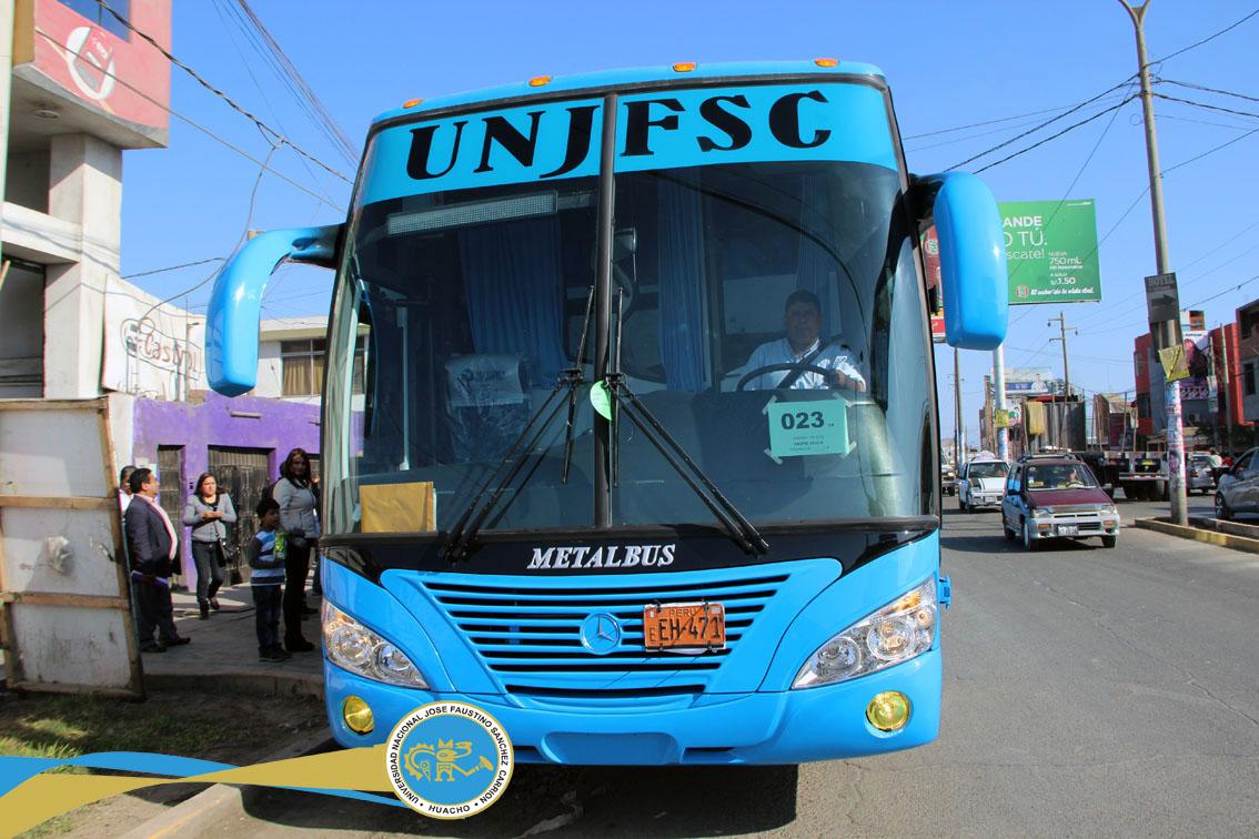 Universidad de Huacho pone a disposición buses para alumnos de Huaral, Humaya, Huaura y Barranca